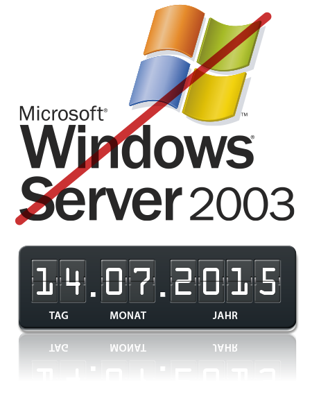 Supportende Windows Server 2003